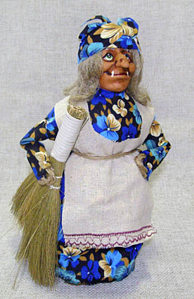 Кукла Баба-Яга средняя, М