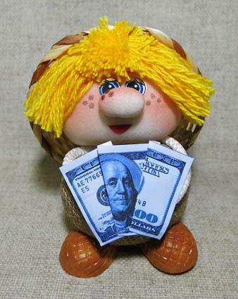 Домовой денежный, средний, ПЛ