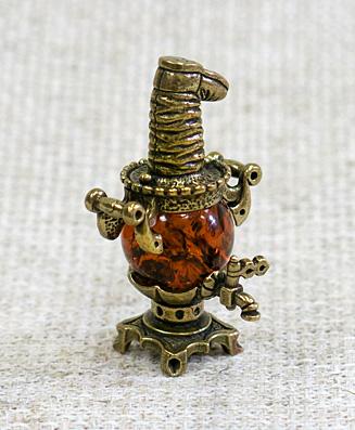 Сувенир Самовар с сапогом