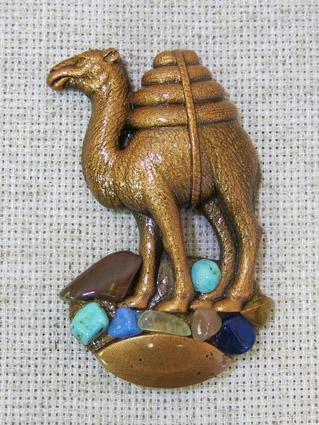 Магнит литой Верблюд, 1225