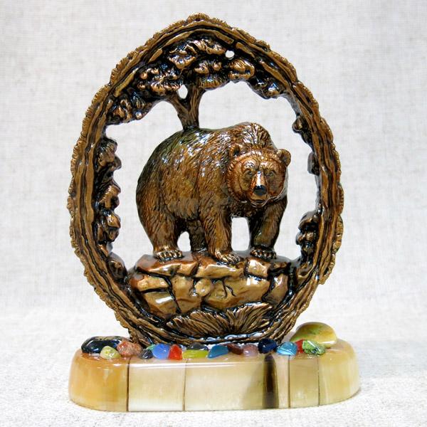 Панно с медведем на селените, 1658