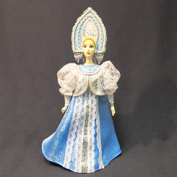 Кукла фарфоровая Снегурочка, Ф 23