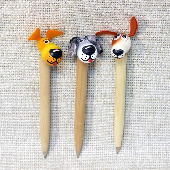 Ручка сувенирная Собака