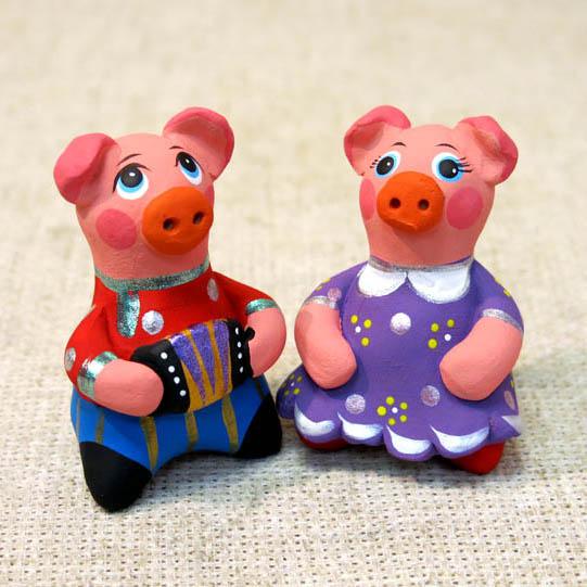 Свистулька Свинья