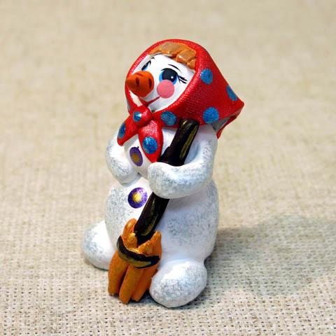 Свистулька Снежная баба