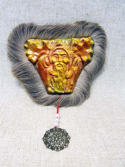Панно-маска Дух леса