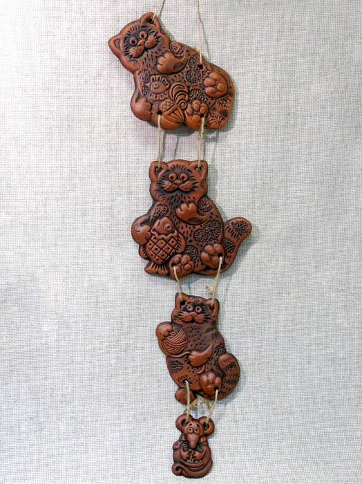 Вязанка Три кота и мышь, ГД, 1353