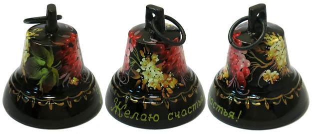 Колокольчик расписной №4 литой