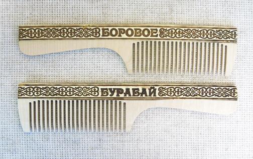 Расческа деревянная с аппликацией, АО