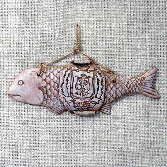 Панно Рыба Югра