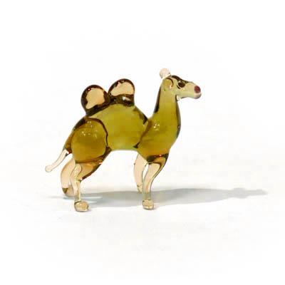 фигурка верблюд микро стекло