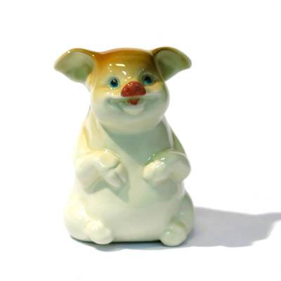 Фигурка Свинья сидящая, СЦ