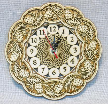 Часы Кедровая косичка, д. 290, ПН
