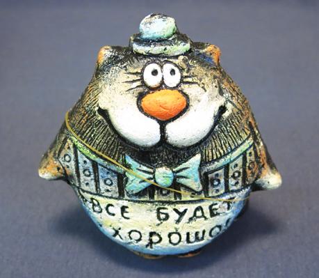 Фигурка Кот Шляпник 3, КК-85