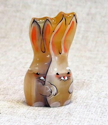 Зайчики - влюбленная пара, ИВ