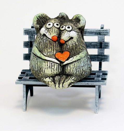 Мышки на скамейке, НГМ-11А