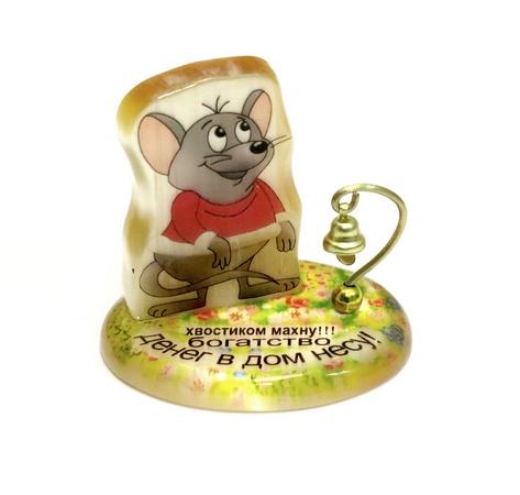 Настольный сувенир Мышка Богатство и деньги в дом, АВ
