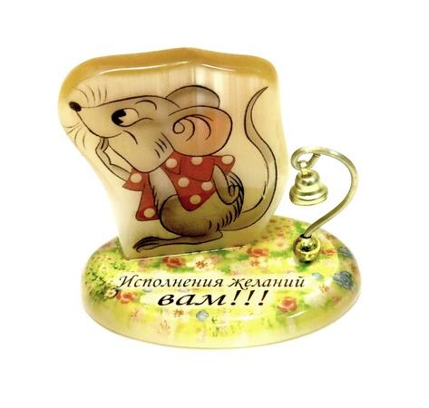 Настольный сувенир Мышка Исполнения желаний, АВ