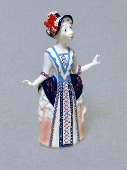 Кукла фарфоровая Эмилия, Ф
