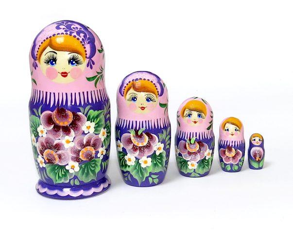 Матрешка Аленка Сладкие сны, 5 мест