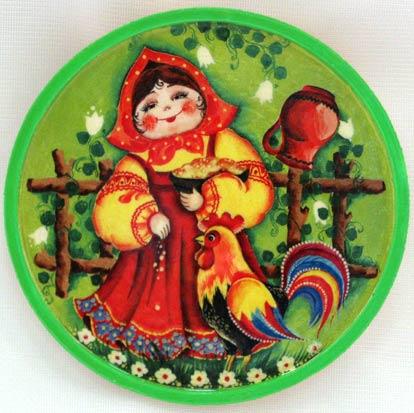 Декоративная тарелка-панно д. 116