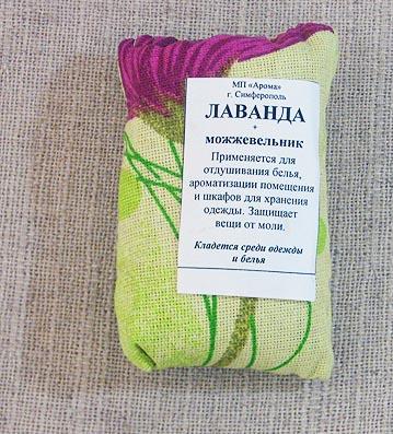 Подушечка ароматическая (саше) можжевеловая