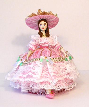 Кукла-шкатулка Полина - ШК 5