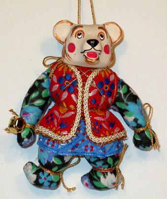 Медвежонок в жилетке, МК 1