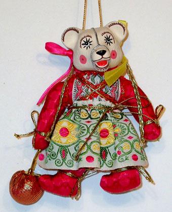 Медвежонок с ягодкой, МК 2