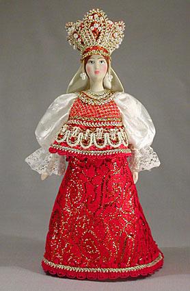 Кукла фарфоровая Млада, Ф 45