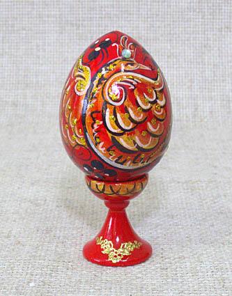 Пасхальное яйцо на подставке (№ 23)