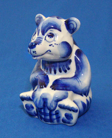 Медведь с мёдом син.